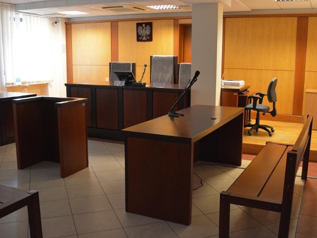 Sala Rozpraw Wydziału I